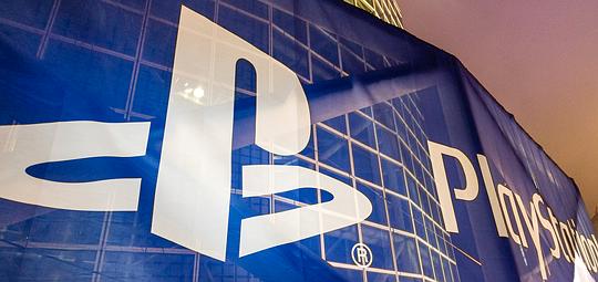 PlayStation banner at E3 2016